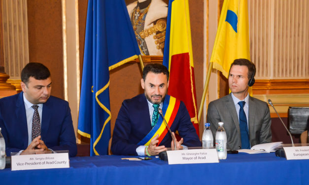 "The second successful regional conference of the EU-funded ""Study on Safe and Secure Parking Places for Trucks"" was held on 19 June 2018 in Arad, Romania."